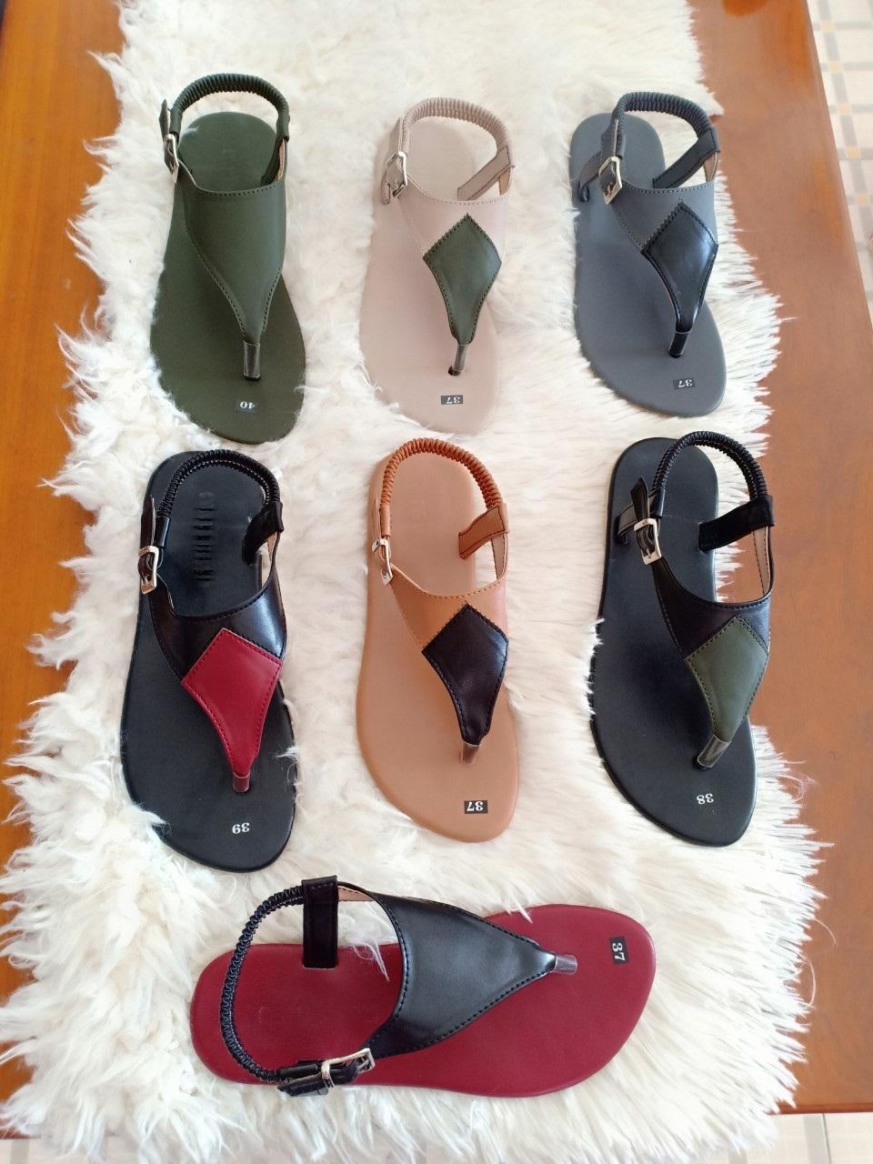 Sandal đế Thấp Siêu Bền Có Size Lớn | Sz 35-41 Giảm Cực Hot
