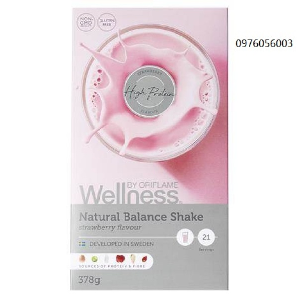 Bột dinh dưỡng  Wellness dâu 29689 giá rẻ