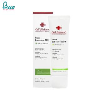 Kem Chống Nắng Cell Fusion C Clear Sunscreen 100 SPF 48+ PA+++ 50ml thumbnail