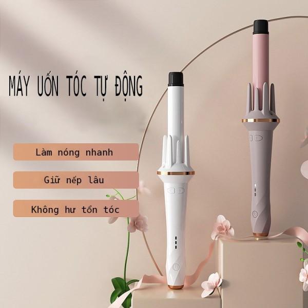 Máy uốn tóc tự động chất liệu gốm sứ đường kính uốn 28mm - AKIO Mart