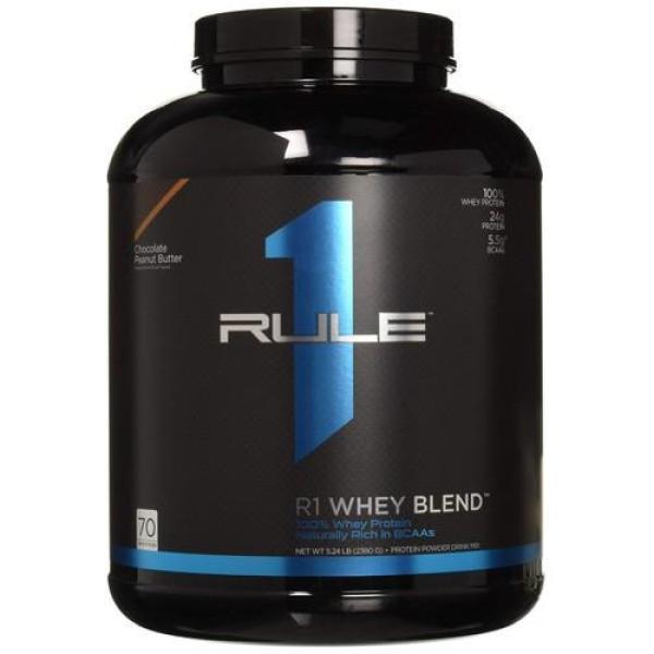 Sữa Tăng Cơ Cho Người Tập Gym Rule 1 Blend 5lbs (2.3 kg) cao cấp