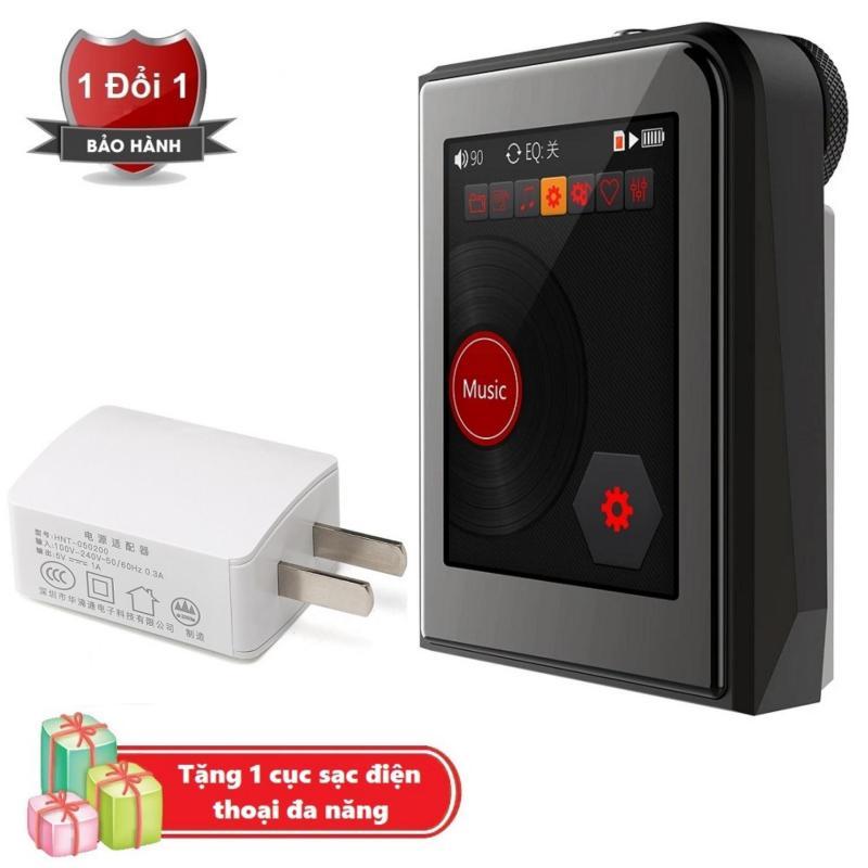 Máy nghe nhạc MP3 Lossless cao cấp Ruizu A50 - Hifi Music Player Ruizu A50 Tặng kèm Cục sạc điện thoại đa năng