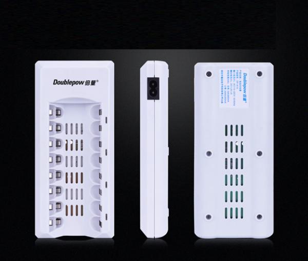 Giá Bộ sạc nhanh thông minh đa năng Doublepow DP-K18 có 8 cổng sạc pin tiểu AA,AAA (Không bao gồm pin sạc)