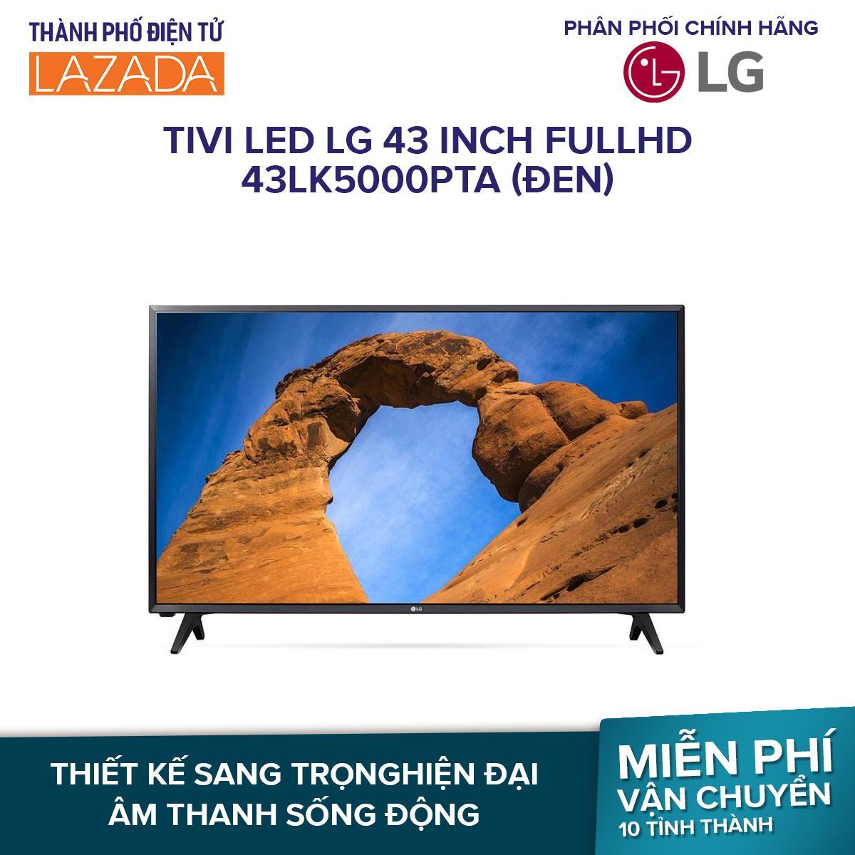 Tivi LED LG 43 inch FullHD 43LK5000PTA (Đen) - Hàng phân phối chính hãng
