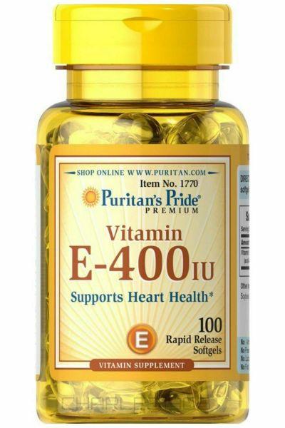 Vitamin E Puritans Pride 100 viên