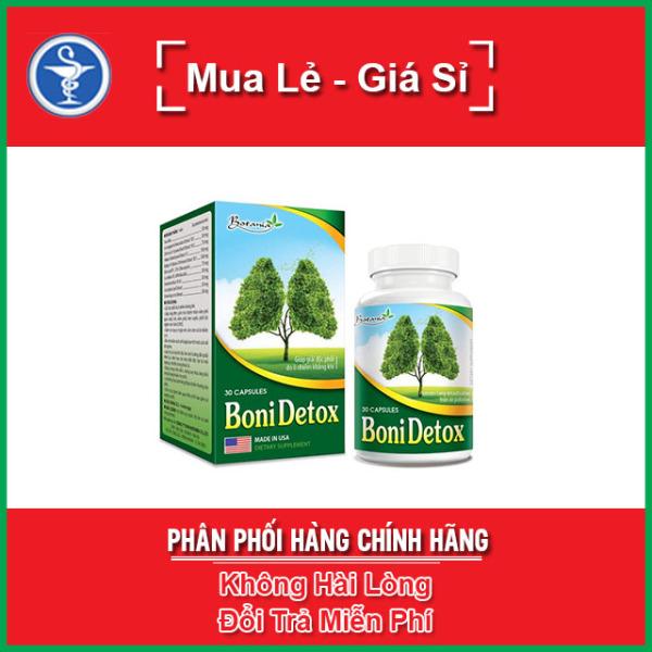 BoniDetox - Giúp Thanh Lọc Lá Phổi Hộp 30 Viên giá rẻ
