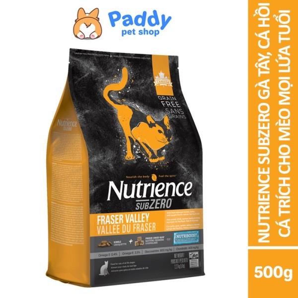 Thức Ăn Hạt Cho Mèo Nutrience SubZero Đặc Biệt Gà Tây, Cá Hồi, Cá Trích, Trái Cây Và Rau Củ Tự Nhiên