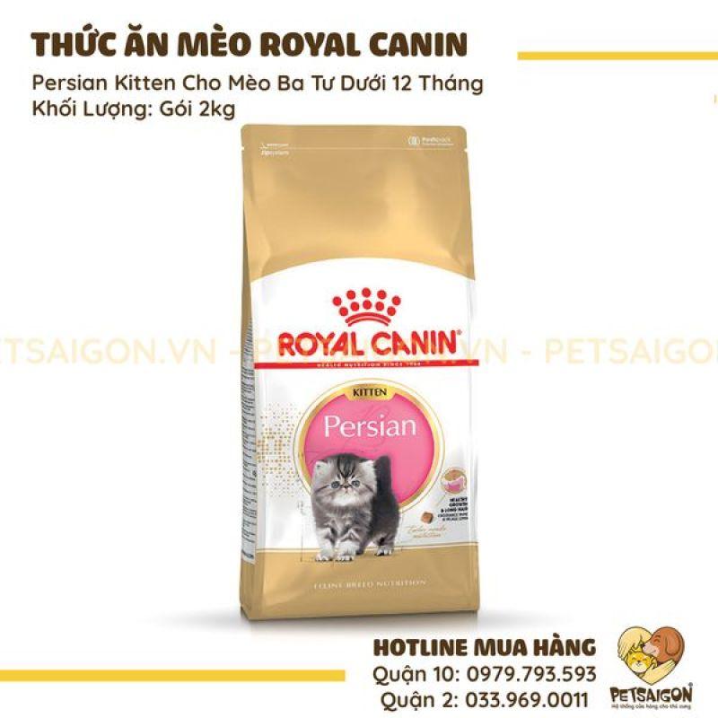 ROYAL CANIN - PERSIAN KITTEN CHO MÈO BA TƯ DƯỚI 12 THÁNG