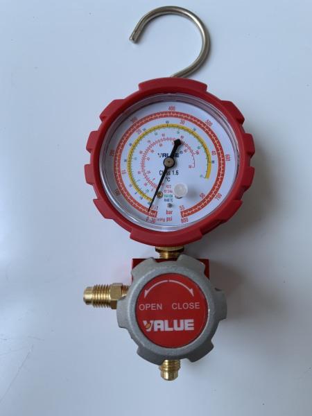 Đồng Hồ Gas Đơn VALUE  VMG-1-U-H( Đỏ )