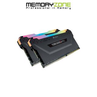 Ram PC Corsair Vengeance RGB Pro 32GB 3600Mhz DDR4 (2x16GB) CMW32GX4M2D3600C18 thumbnail