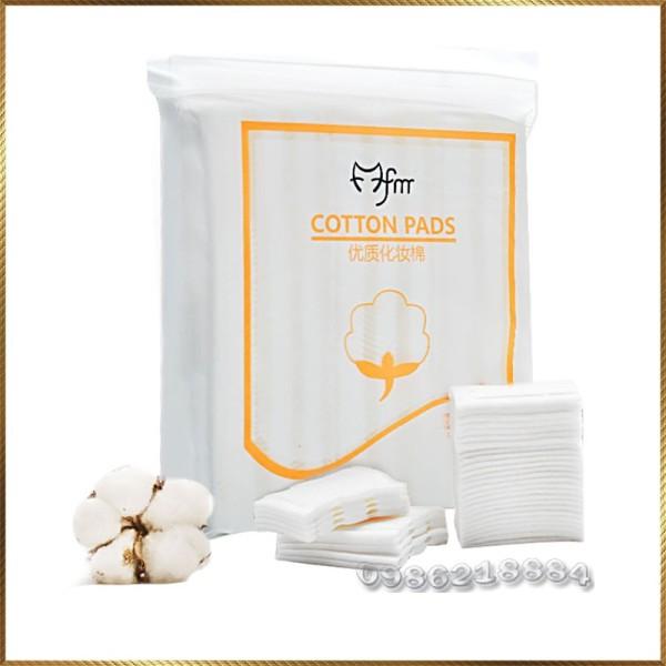 Bông tẩy trang 3 lớp Cotton Pads túi 222 miếng CPM1 giá rẻ
