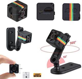 Camera mini siêu nhỏ bé hành trình xe máy phượt camera sq11 full hd 1080p giá rẻ chống rung chống nước thumbnail