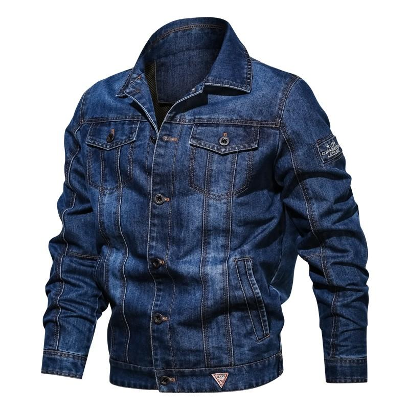 3967c5688830 Cowboy Clothes WorkWear Coat Men Spring And Autumn Korean Style Trend Slim  Fit 2019 New Style