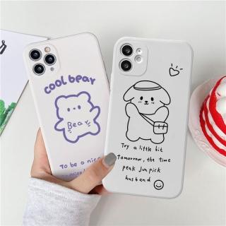 Ốp lưng iphone cạnh vuông cool bear dành cho iphone 6 đến 12promax e14 shincase thumbnail