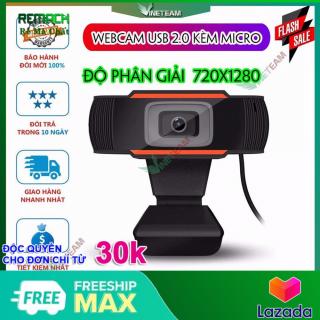 Webcam Máy Tính Phân Giải 1280 x 720p Kèm Micro thumbnail