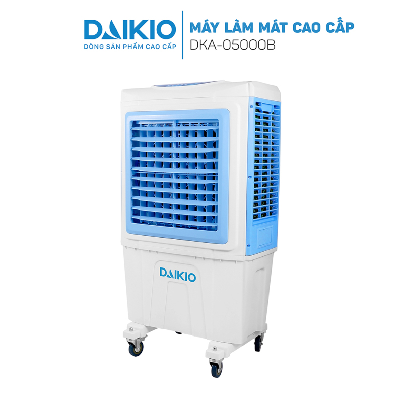 Máy làm mát không khí Daikio DKA-05000B cao cấp - Quạt điều hòa hơi nước Daikio sức gió 5000m3/h