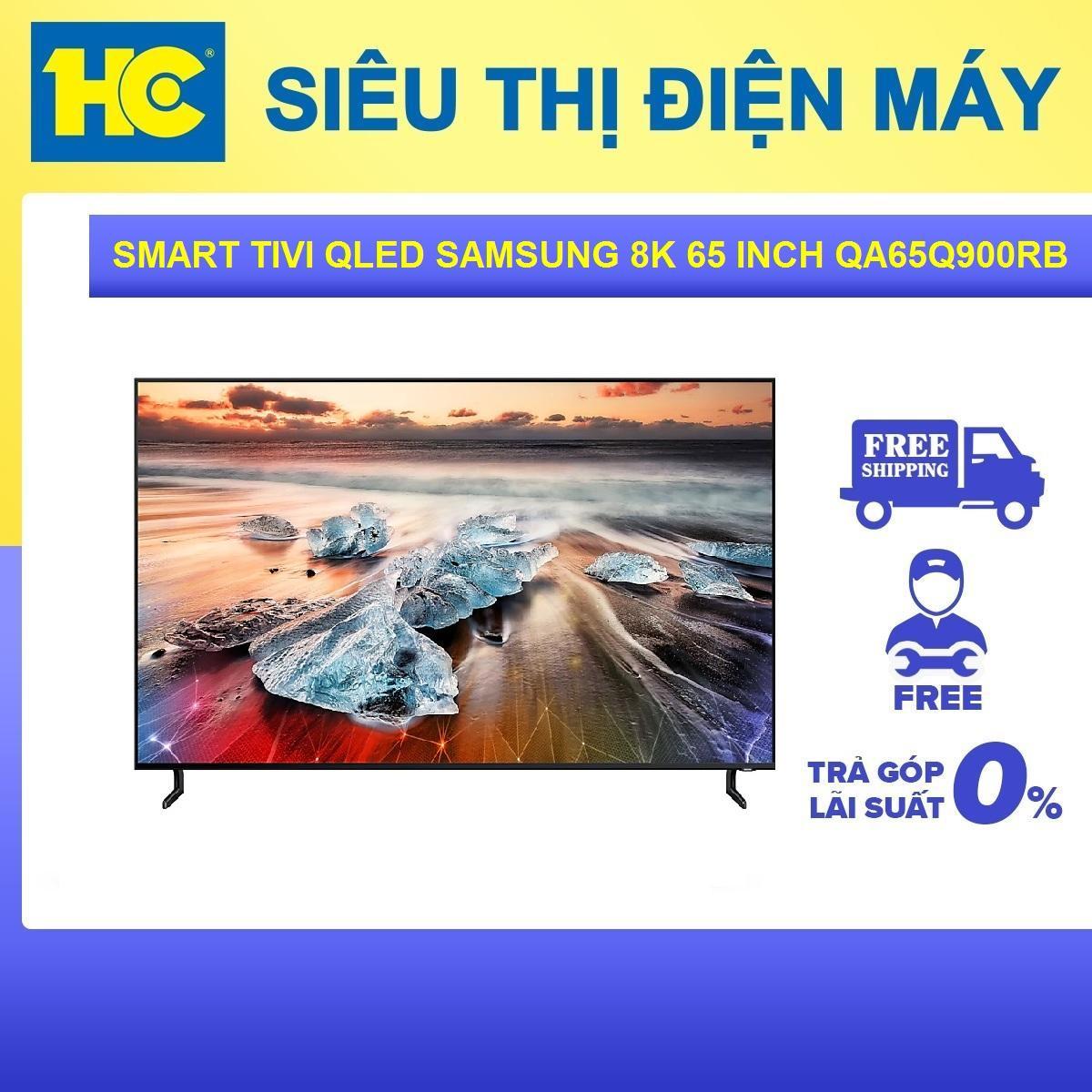 Bảng giá Smart Tivi QLED Samsung 8K 65 inch QA65Q900RBKXXV - Bảo hành 2 năm - Miễn phí vận chuyển & lắp đặt - hỗ trợ trả góp