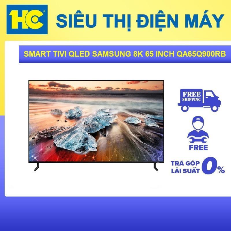 Smart Tivi QLED Samsung 8K 65 inch QA65Q900RBKXXV - Bảo hành 2 năm - Miễn phí vận chuyển & lắp đặt - hỗ trợ trả góp chính hãng