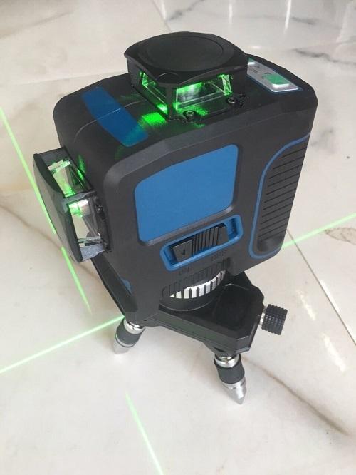 Máy Bắn Tia laser 3D -12 Tia có chân đế và treo tường