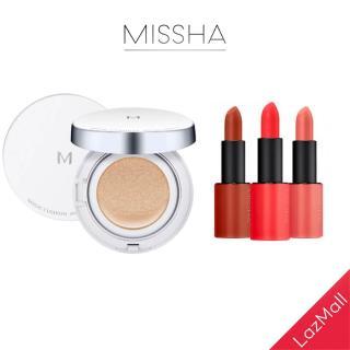 [COMBO] Son Lì MISSHA Dare Rouge 3.5g + Cushion Missha M Magic Cushion SPF50+ PA+++ 15g Tone No.21 thumbnail
