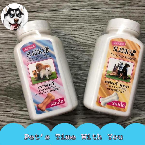 Viên Canxi Cho Chó Sleeky giúp khỏe mạnh chắc xương - Pets Time