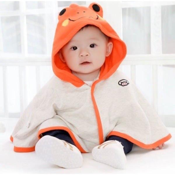 Giá bán Áo Choàng Chống Nắng Hình Con Ếch Ngộ Nghĩnh Cho Bé SUMO CITY cho bé từ 6-28kg
