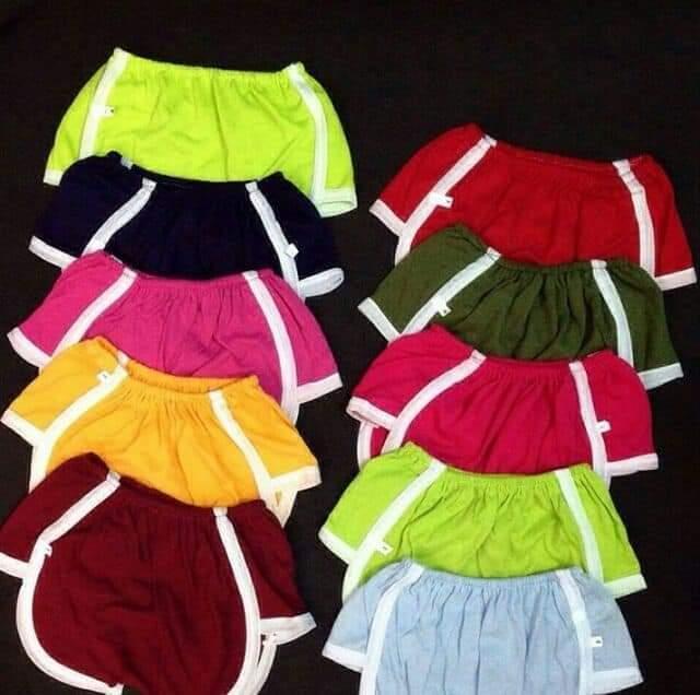 Set 10 quần đùi bí cho bé
