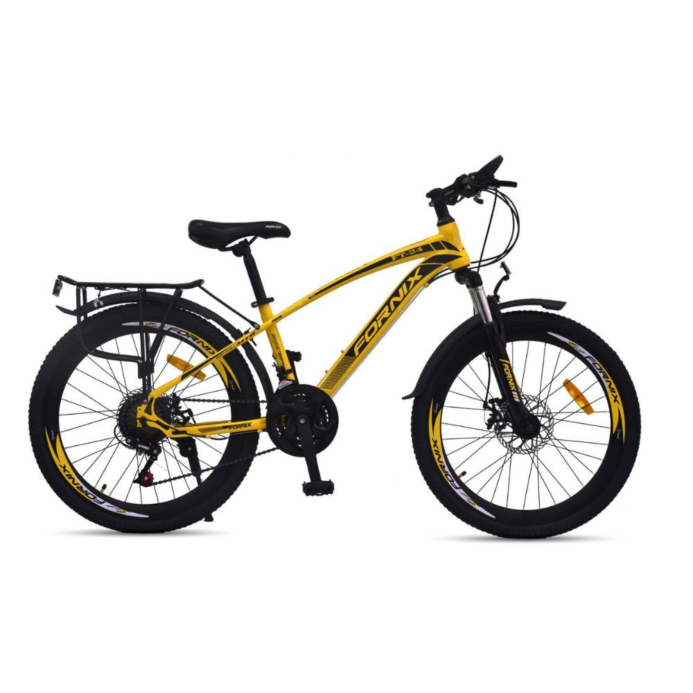Mua Xe đạp địa hình Fornix FT24 màu vàng đen