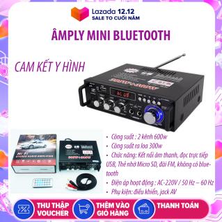 Amply MINI Bluetooth GIÁ RẺ công suất 2 KÊNH 600W - Bass khỏe âm thanh sống động ,Tự Động Lọc Nhiễu, Hỗ Trợ Khe Cắm Thẻ Nhớ, Trang Bị Điều Khiển Từ Xa, Dễ Dàng Di Chuyển - CÁCH SỬ DỤNG AMPLY BT298A thumbnail