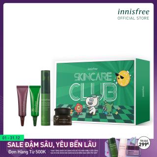 Combo tinh chất dưỡng và xóa nếp nhăn vùng mắt cao cấp từ trà xanh Innisfree Green Tea Seed Eye & Face Ball thumbnail