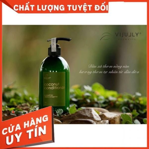 [CHÍNH HÃNG] Dầu xả tóc dầu dừa 280 ml giúp tóc mượt và dày hơn