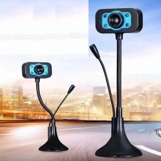 Webcam Máy Tính Full HD Có Míc, Webcam 720P Hd Cho Máy Tính Micro Tích Hợp Có Tính Năng Giảm Tiếng Ồn Có Đèn Led Và Điều Chỉnh Ánh Sáng Phù Hợp. thumbnail