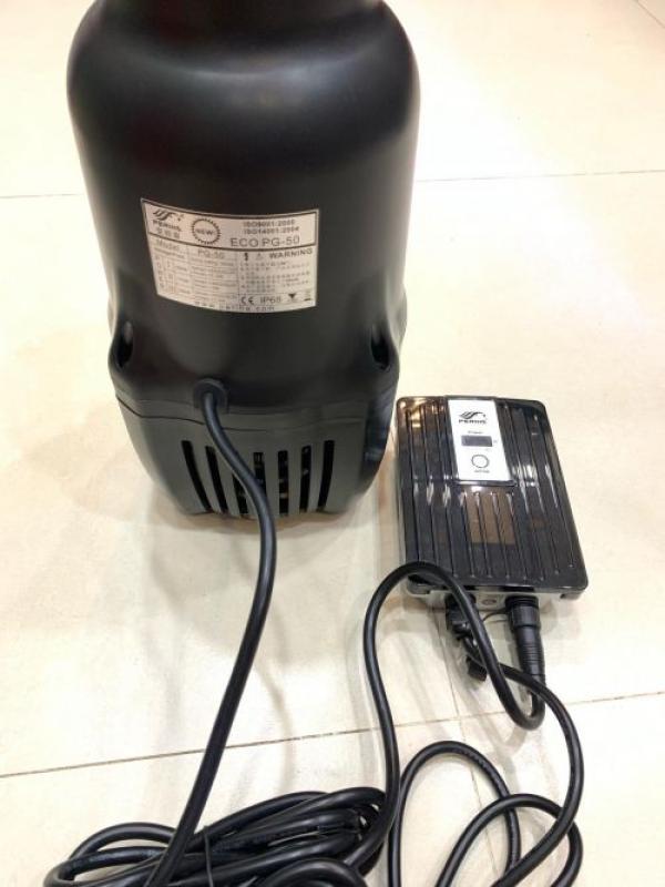 Bơm Periha PG 60 - 60 khối/h (250w) - Bơm tạt hồ cá koi - Bơm tiết kiệm điện - Bơm công suất lớn - Điều chỉnh lưu lượng nước- Bơm đặt chìm - Bơm công suất lớn -Bơm tích hợp cảm biến chống cạn - Cá Koi hoàng Long