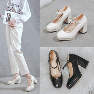 Vintage Mary Janes Giày Nữ Nữ Giày Giày Đi Học Giày Búp Bê Cho Phụ Nữ Giày Ba-lê Đế Bằng Cho Phụ Nữ Trên Doanh Số Bán Hàng 110904