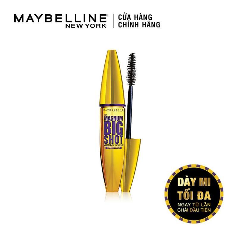 Mascara dày mi cực đại Maybelline New York Magnum Big Shot 10ml (Đen) cao cấp