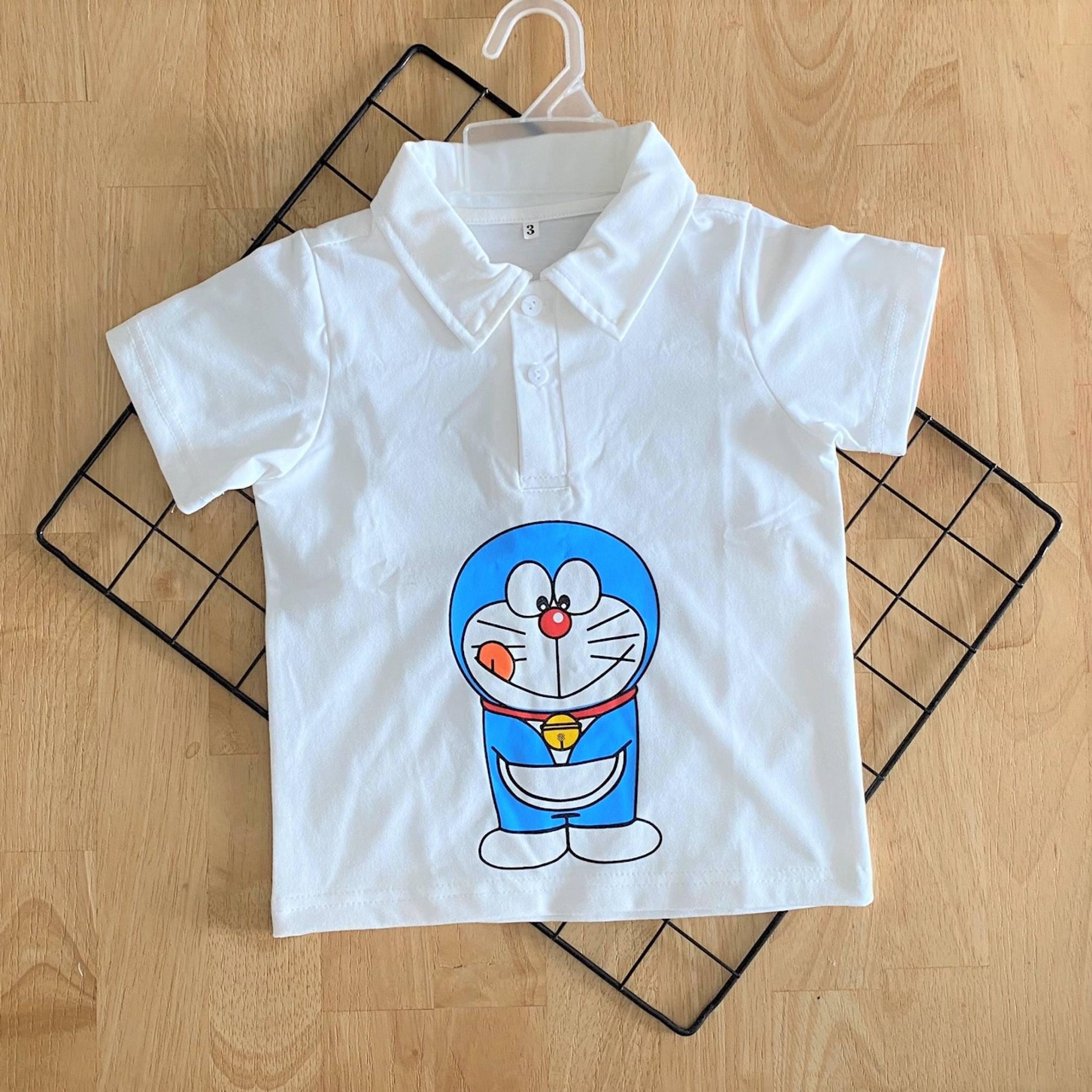 Áo Thun Cổ Trụ chất vải thun cotton 4 chiều mềm, xịn, đẹp cho bé trai . Áo Thun Bé Trai. Quần áo trẻ em. Quần áo bé trai