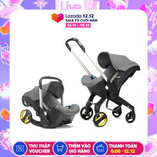 [Có Video] Ghế ngồi ô tô cho bé kết hợp xe đẩy và nôi xách tiện lợi, ghế ngồi ô tô 3in1 Mstar mẫu mới 2020, trọng tải xách đến 13kg (nhiều màu) thumbnail