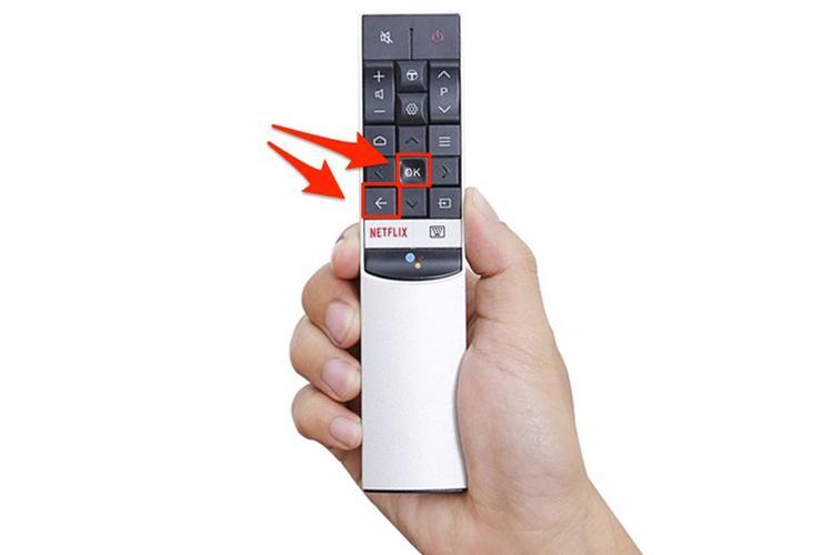 Bảng giá Điều khiển tivi TCL RC602S tìm kiếm giọng nói (trắng)
