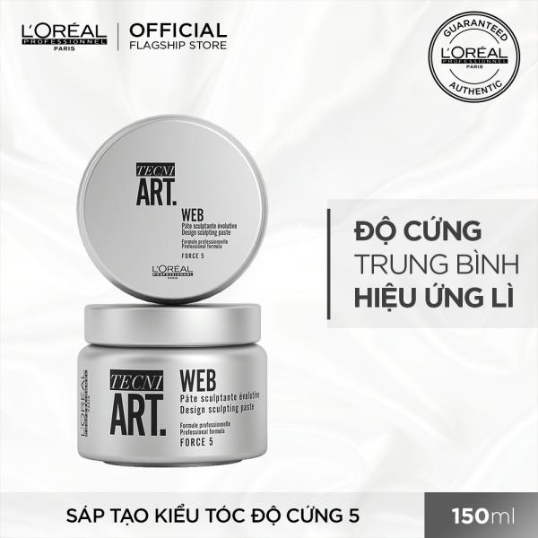 [Tặng Voucher 30K] Sáp tạo kiểu tóc độ cứng 5 LOréal Professionnel Techni Art. Web 150ml