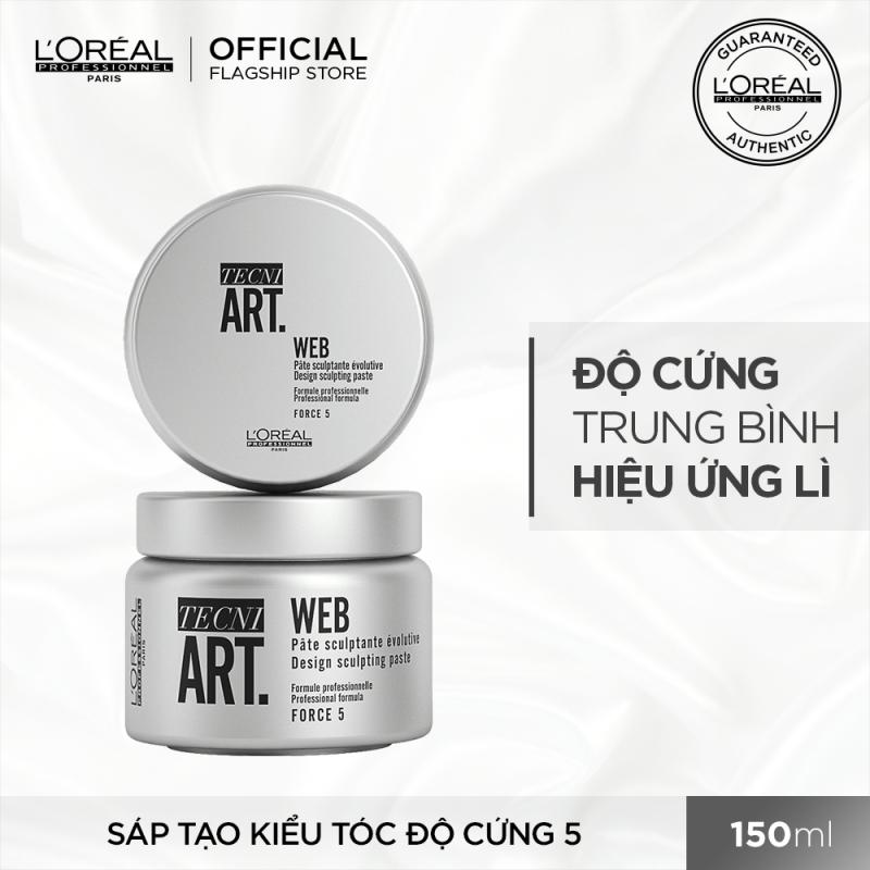 [Tặng Voucher 30K] Sáp tạo kiểu tóc độ cứng 5 LOréal Professionnel Techni Art. Web 150ml giá rẻ