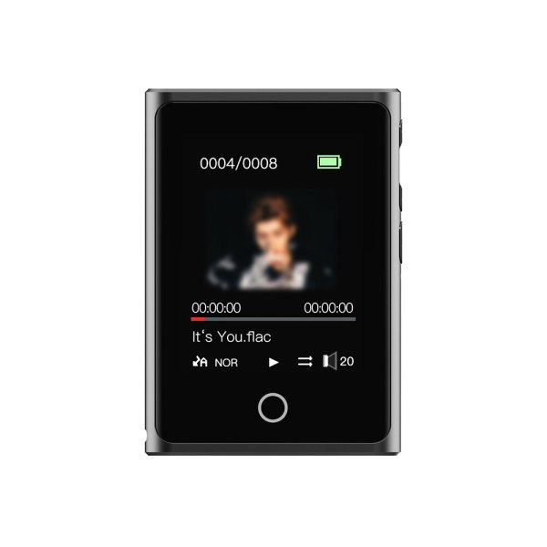 Máy nghe nhạc MP3/Lossless RUIZU M2 full cảm ứng, hỗ trợ Bluetooth [8GB]