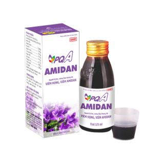 Viêm amidan, khi nào cần cắt - Siro PQA Amidan giúp bổ phế, hỗ trợ giảm ho, hỗ trợ giảm sưng đau do viêm họng, viêm amidan, giảm thiểu nguy cơ cắt Amidan - chai 125ml thumbnail
