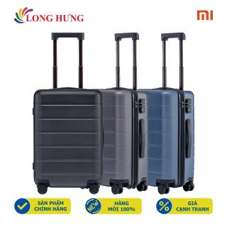 Vali Xiaomi Luggage Classic 20 - Hàng chính hãng - Đàn hồi cao, chịu được lực ép và va đập mạnh, ngăn chứa được lót vải 100% Polyester chống thấm, 4 bánh đôi bán kính lớn, xoay 360 độ thumbnail