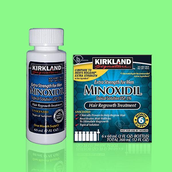 Dung Dịch Mọc Râu Tóc Minoxidil 5% Kirkland For Men Giá Sốc Nên Mua