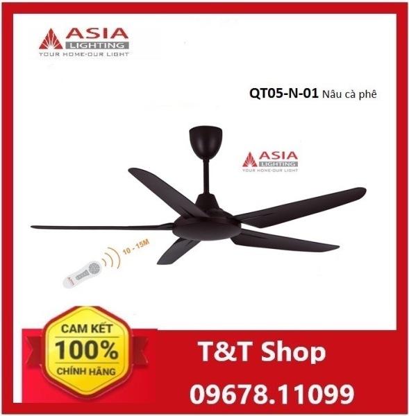 Quạt trần cao cấp QT05-N-01 Asia