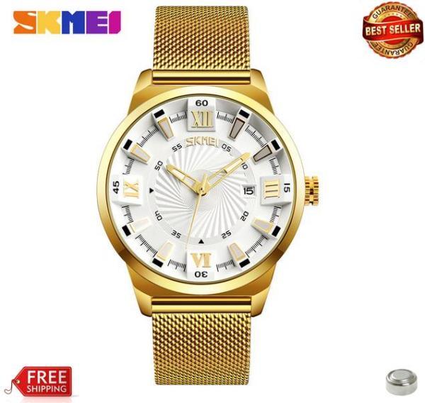 Đồng hồ Skmei dây lưới siêu đẹp 9166 (bh 12 tháng)