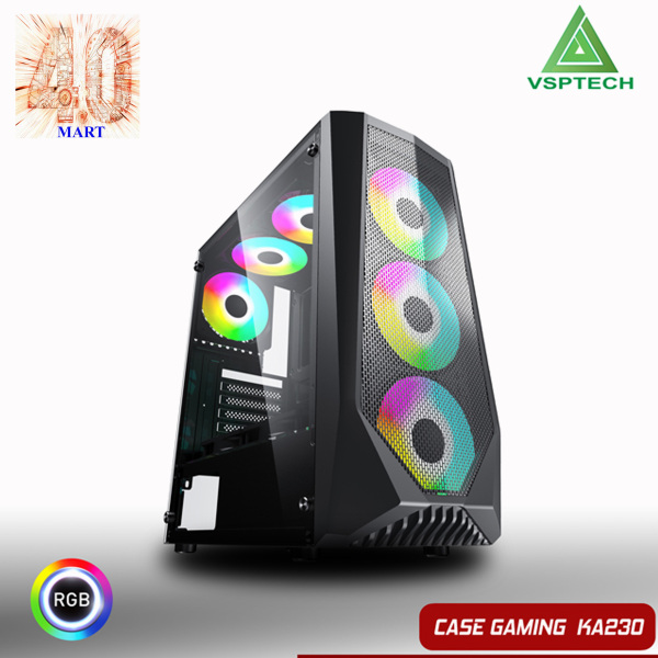 Giá Case VSPTECH Gaming KA230- KÍNH CƯỜNG LỰC