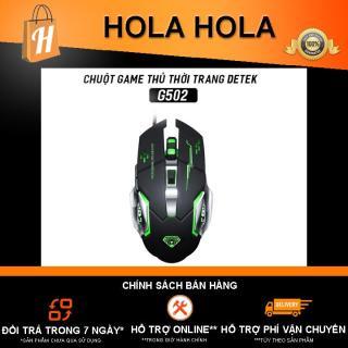 [HCM]Chuột Game thủ DeTeK Divipard GearLord G502 Q5 có đèn LED đổi màu cực đẹp thumbnail