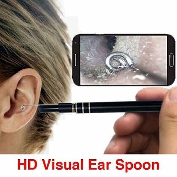 Camera nội soi y tế, Camera nội soi tai, mũi, họng - Máy lấy ráy tai HD Visual Earwas Clean Tool cho hình ảnh sắc nét, sử dụng dễ dàng trên điện thoại và máy tính - Bảo hành uy tín