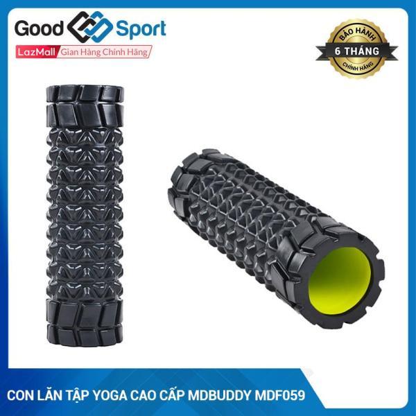 Ống lăn Tập Yoga-Con Lăn Tập Gym Fitness Massage Thư Giãn Cơ Bắp-Ống lăn giãn cơ Foam Roller MDBuddy MDF059